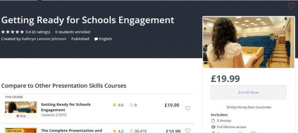 Online Course – Getting Ready for Schools Engagement